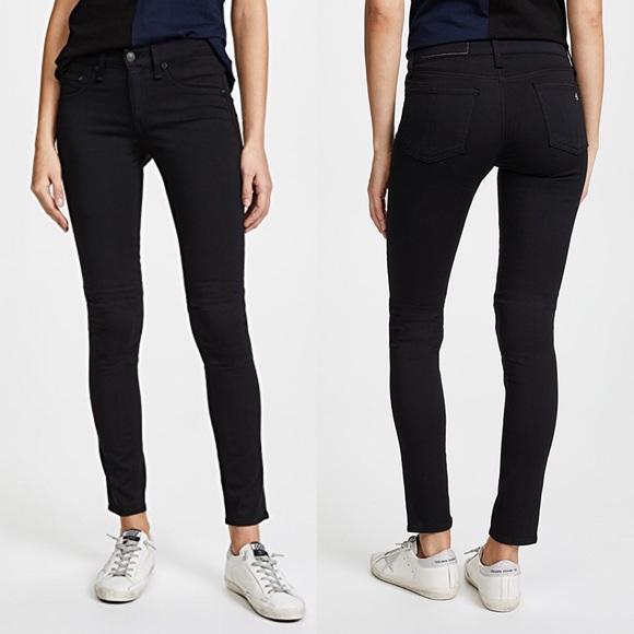 d4241deb77555 rag & bone Jeans | Rag Bone Legging Skinny In Black Plush 26 | Poshmark